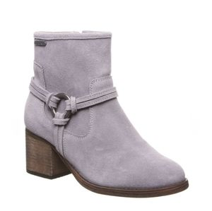 BEARPAW Mica Winter Ankle Boot Booties Gray